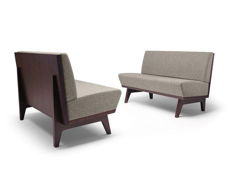 Fabric sofa Dandy 207 by Metalmobil