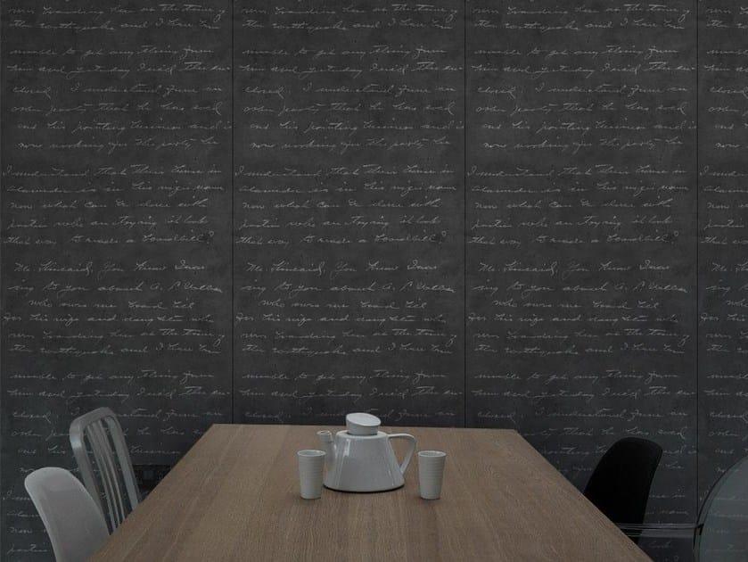 Wallpaper DARK CONCRETE LOVELETTER by Mineheart