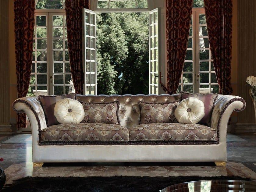 Chesterfield style tufted 3 seater sofa DESDEMONA CLASSIC by Domingo Salotti
