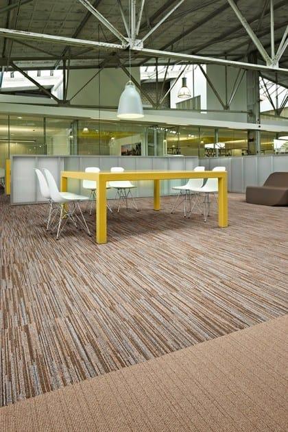 Carpet tiles Desso AirMaster® Blend by TARKETT