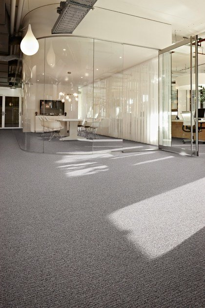 Carpet tiles Desso Reclaim Ribs II by TARKETT