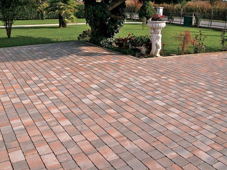 Concrete paving block Dismano® by Micheletto