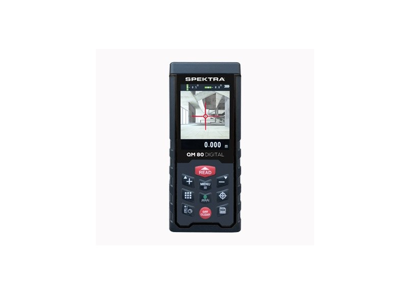 Distanziometro Laser QM 80