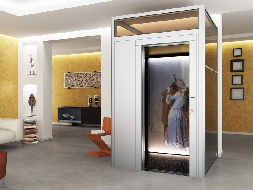 House lift DOMUSLIFT ART - LIMITED EDITION by IGV GROUP