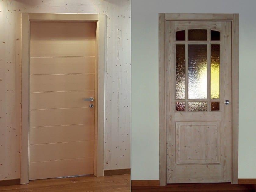 Porte In Legno Massello : Porta in legno massello porta alpilegno