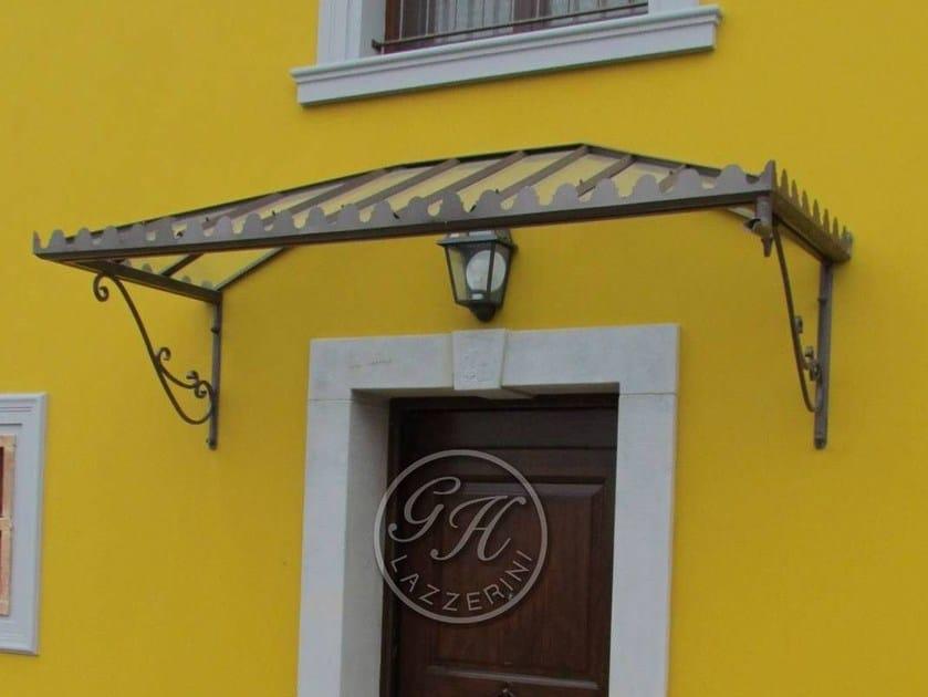 Iron door canopy Door canopy 2 by GH LAZZERINI