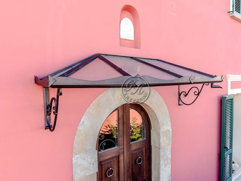 Iron door canopy Door canopy 4 by GH LAZZERINI