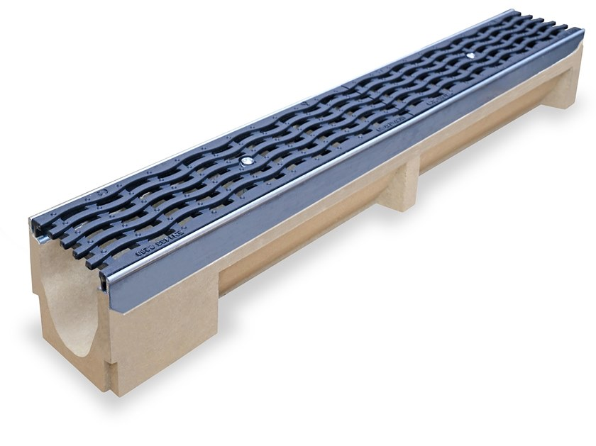 Concrete Drainage channel and part Drainage channel BASE by Pircher