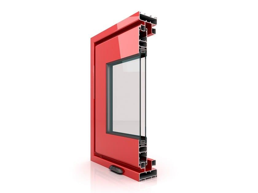 Aluminium sliding window E 700 by Twin Systems