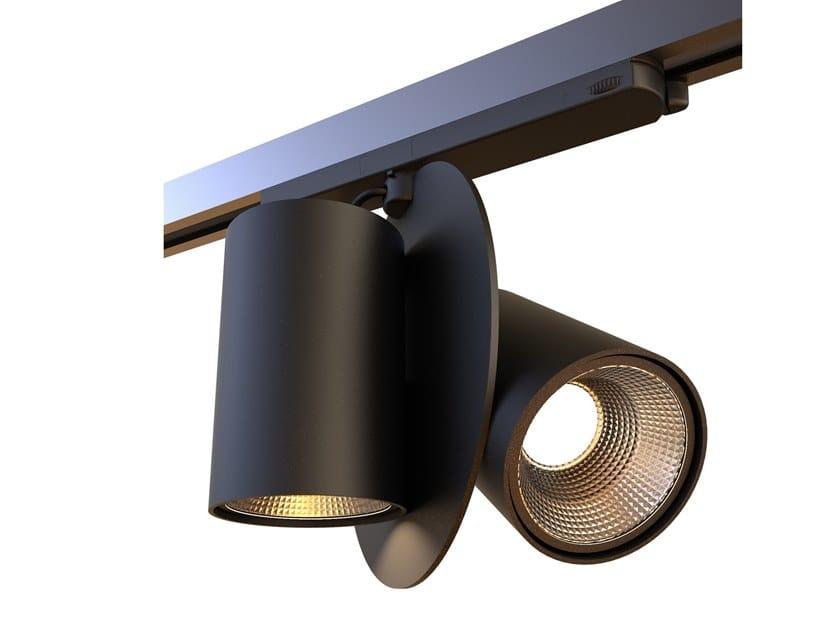 Aluminium Track-Light E/CLISSI by Makris