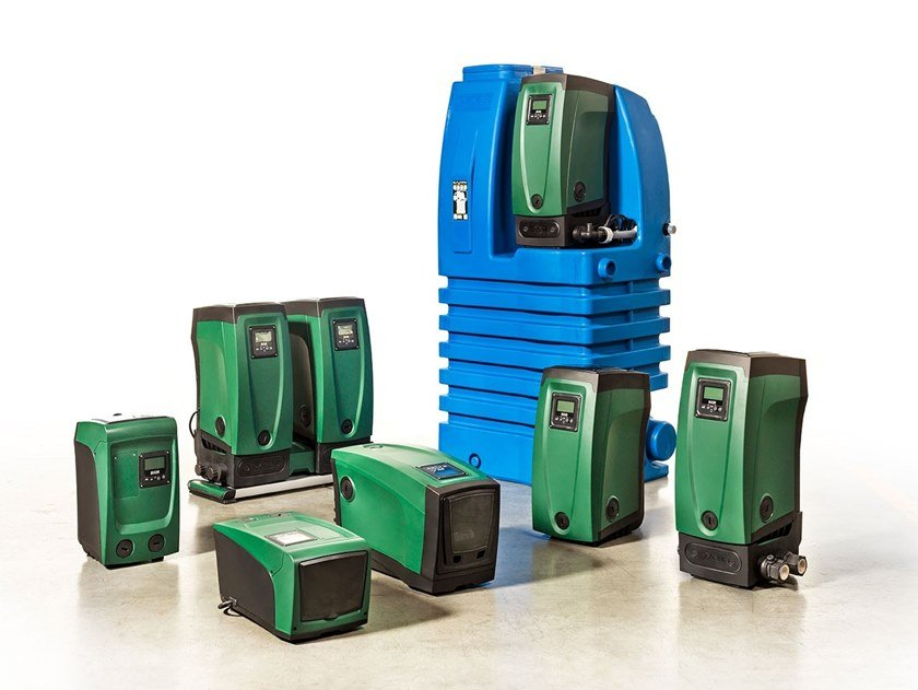 Rainwater recovery system E.SYLINE by Dab Pumps