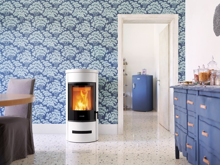 Wood-burning stove E129 BCS | Wood-burning stove by Piazzetta