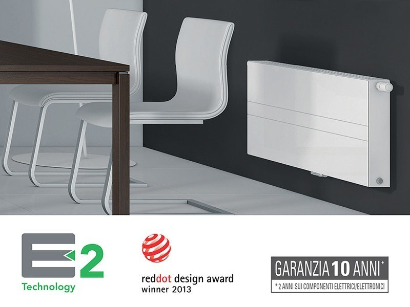 Low temperature steel panel radiator E2 | Low temperature radiator by EMMETI