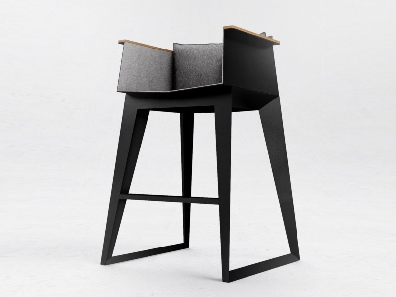 High barstool E4 by ODESD2