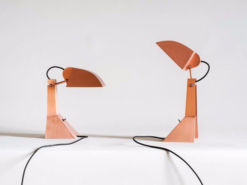 Steel table lamp E63 by Tacchini Edizioni
