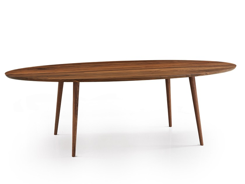 Oval wooden table EAGLE by Oliver B.