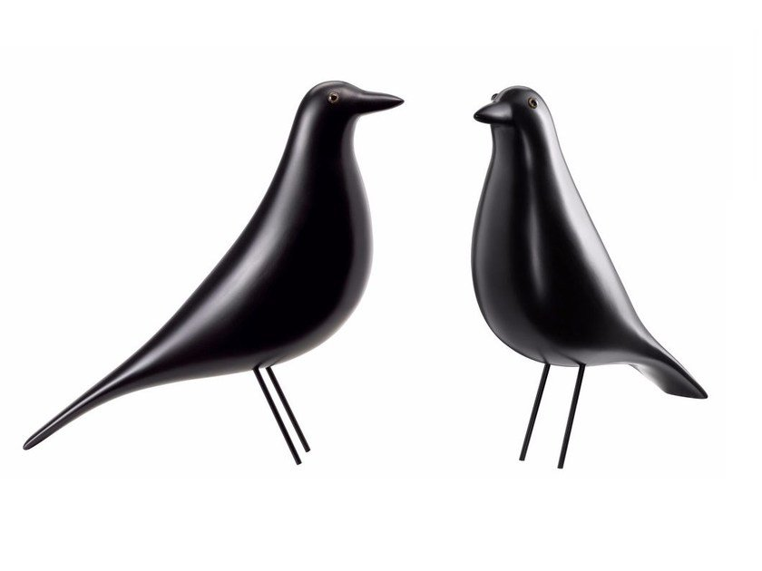 Wooden sculpture EAMES HOUSE BIRD by Vitra