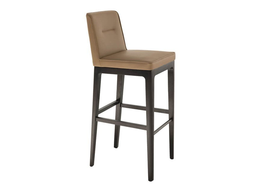 Barstool with footrest EARL | Barstool by HC28