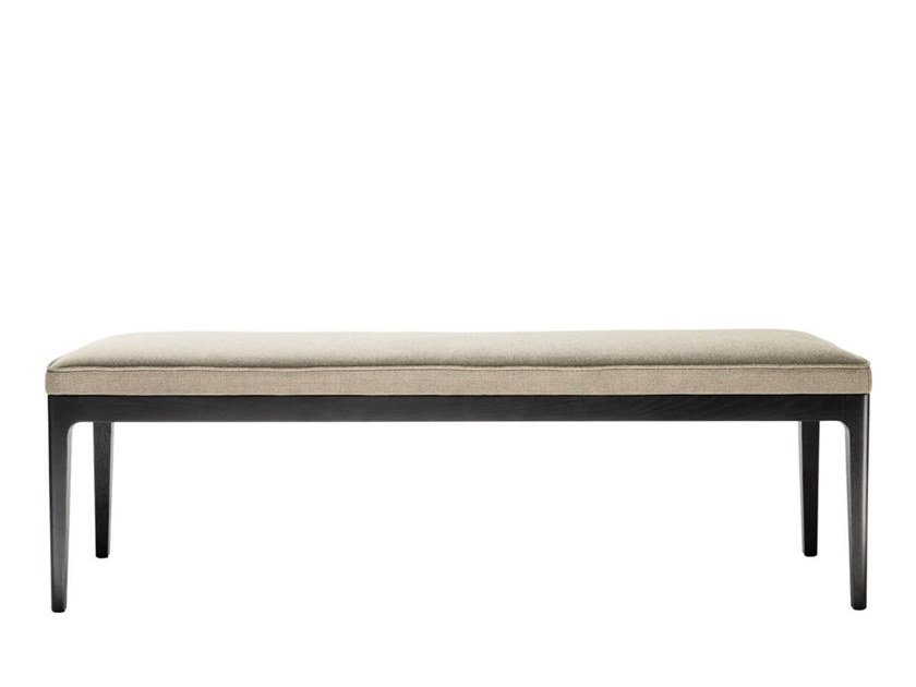 Upholstered fabric bench EARL | Bench by HC28