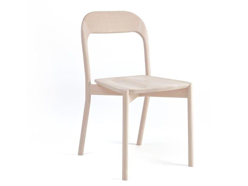 Sedia in legno massello EARL | Sedia by PIAVAL