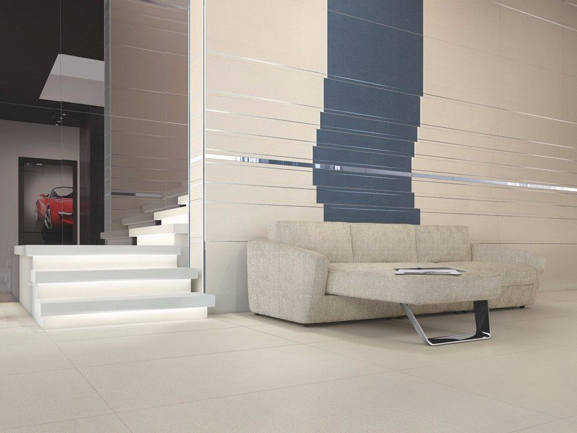 EARTH BY PININFARINA | Pavimento Earth bianco - blu