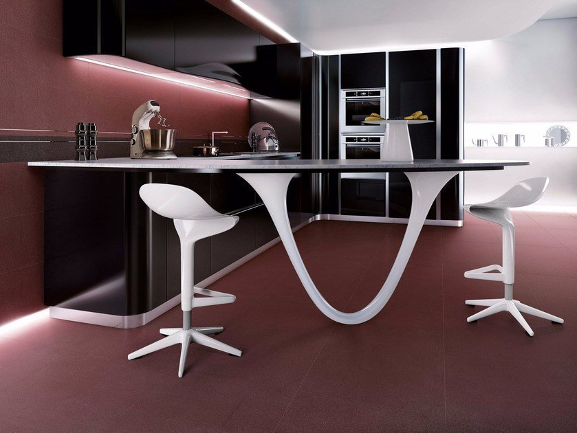 EARTH BY PININFARINA | Pavimento Earth brunello - metalred