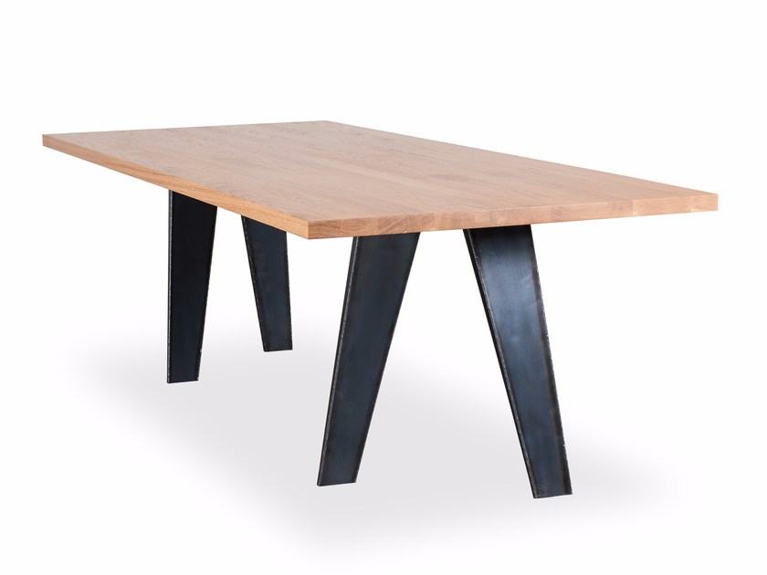 Rectangular table EASEL by Riva 1920