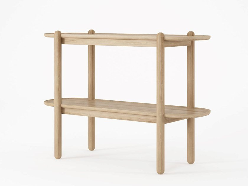 Solid wood console table EAST   Console table by KARPENTER