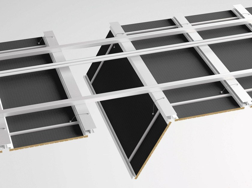 Frame and accessory for suspended ceiling EASY ACCESS by FANTONI