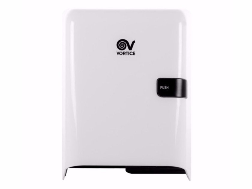ABS Electric hand-dryer with push-button EASY DRY MANUAL by Vortice