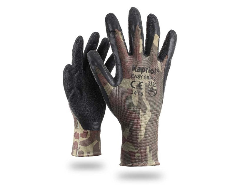 Personal protective equipment EASY GRIP CAMOUFLAGE by KAPRIOL