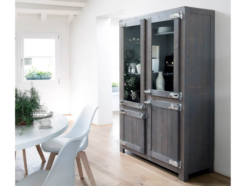 Spruce highboard with doors EASY | Highboard by AltaCorte
