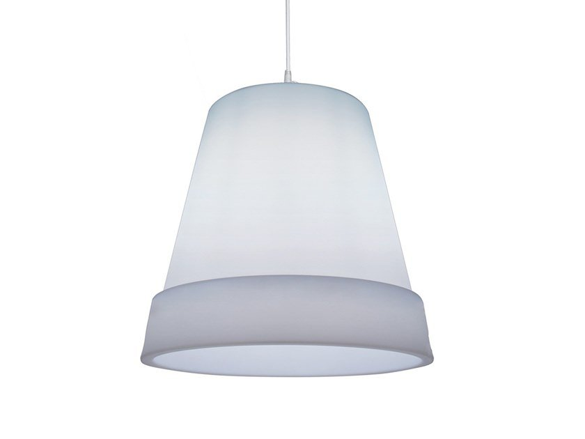 LED polyethylene pendant lamp EASY | Pendant lamp by Lyxo Design