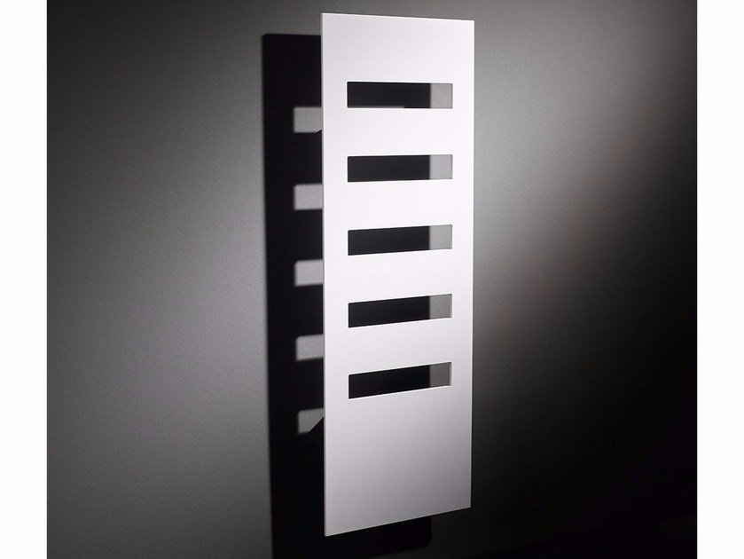 Wall-mounted aluminium towel warmer EASY by RIDEA