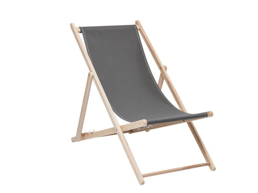 Folding deck chair EASY SUMMER by KARE-DESIGN