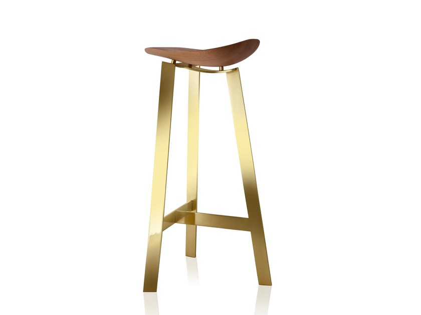 Barstool with footrest EASY | Barstool by Sollos