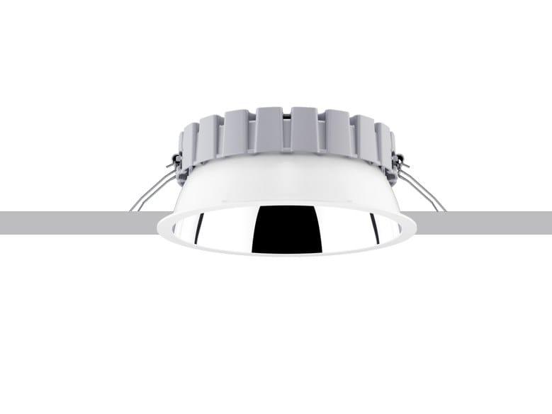 LED recessed die cast aluminium spotlight EASY   Spotlight by iGuzzini