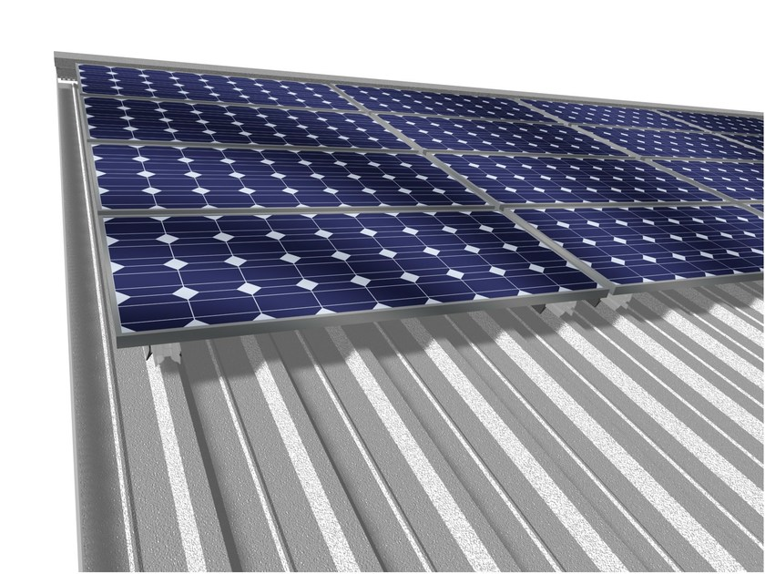 Support for photovoltaic system EASYFIX by Ondulit Italiana