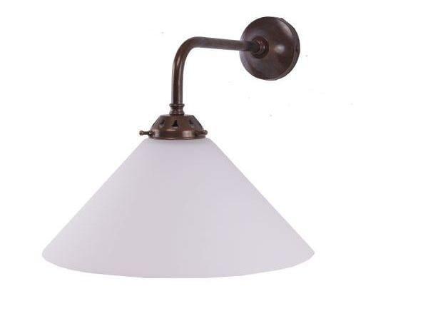Direct light handmade wall lamp EBB COOLIE WALL LIGHT by Mullan Lighting
