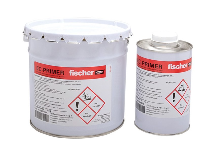 Structural adhesive EC-PRIMER (A+B) by fischer italia