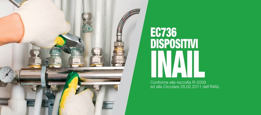 Sizing of water pipe and network EC736 DISPOSITIVI INAIL by EDILCLIMA