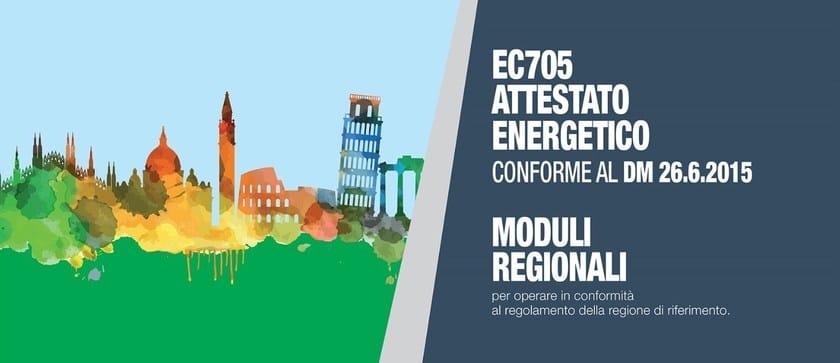 EC705 ATTESTATO ENERGETICO