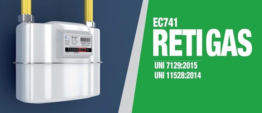 EC741_EC745 Reti gas - UNI 7129 e 11528