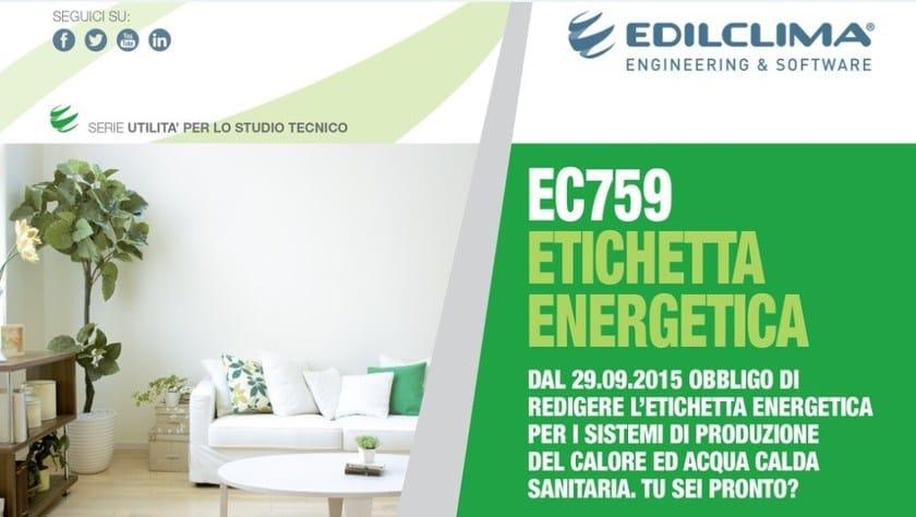 EC759 Etichetta energetica