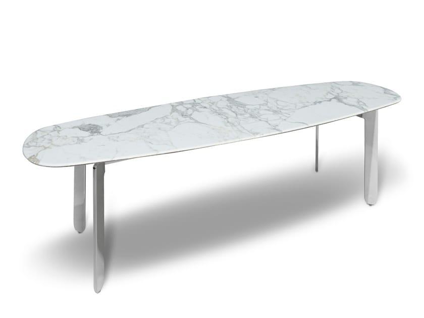 Marble bench ECCO BENCH by AKDO