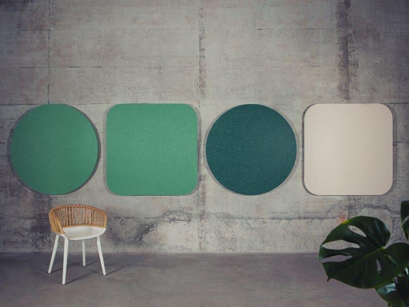 PET Decorative acoustic panel ECHOFIELD® by ECHOJAZZ