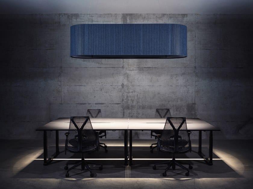LED PET pendant lamp ECHOLED® UMBRA by ECHOJAZZ