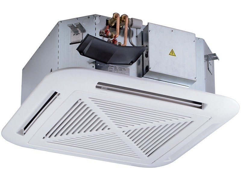 Built-in ceiling mounted fan coil unit for suspended ceiling ECI IDROLAN | Fan coil unit for suspended ceiling by EMMETI