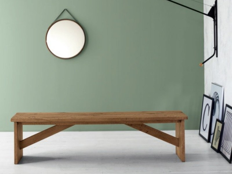 Wooden bench ECLETTICA | Bench by Devina Nais