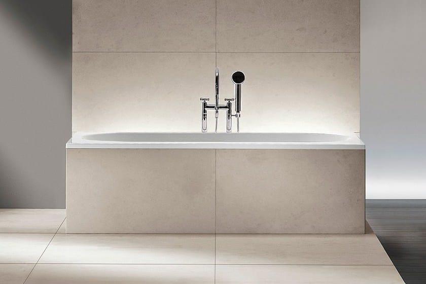 freistehende badewanne aus corian eclettico by makro. Black Bedroom Furniture Sets. Home Design Ideas